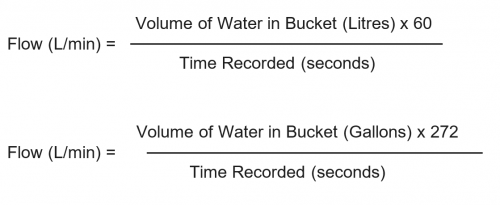 Blake Hydram Pump Flow Calculations